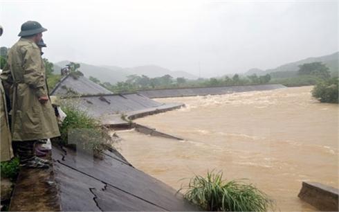 Khu vực Bắc Bộ tiếp tục có mưa to trên diện rộng đến ngày 3/8