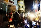 Cháy khách sạn ở Sài Gòn, 5 người ngất xỉu
