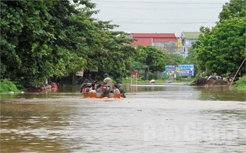 Từ trưa và chiều 4-8, khu vực Đông Bắc Bộ mưa giảm nhanh