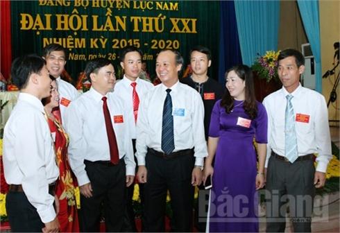 Đại hội Đảng bộ huyện Lục Nam: Bầu 43 đồng chí vào Ban Chấp hành khóa mới