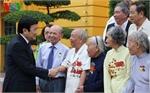 Chủ tịch nước gặp mặt 100 chiến sĩ cách mạng bị địch bắt tù đày