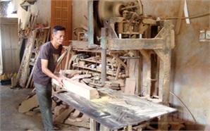 Thương binh Nguyễn Văn Duy: Làm giàu từ nghề mộc