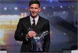 Áp đảo C.Ronaldo, Messi đoạt giải Cầu thủ xuất sắc nhất châu Âu
