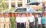 Lục Ngạn: Tiếp nhận xuồng cứu hộ cứu nạn