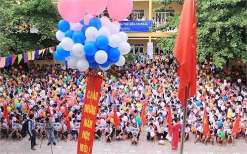 Bộ GD&ĐT yêu cầu tổ chức khai giảng gọn nhẹ, vui tươi