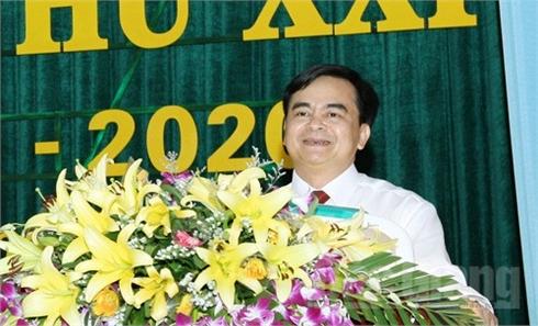 Đồng chí Thân Văn Dàn được bầu giữ chức Bí thư Huyện ủy Lục Nam