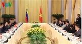 Chủ tịch nước hội đàm với Tổng thống Venezuela