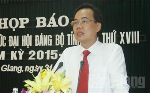 Đại hội đại biểu Đảng bộ tỉnh Bắc Giang lần thứ XVIII được tổ chức từ ngày 30-9 đến 3-10-2015