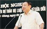 Bắc Giang: Đóng góp ý kiến vào dự thảo Bộ luật Hình sự sửa đổi