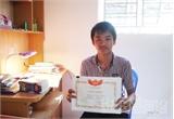 Hoàng Minh Chiến -  Huy chương Vàng kỳ thi Tiếng Anh qua mạng