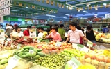 Khách hàng đến các siêu thị tại Bắc Giang tăng gấp đôi