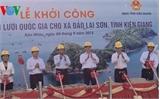 Thủ tướng phát lệnh khởi công dự án điện lưới vượt biển dài nhất Việt Nam