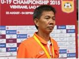 HLV Hoàng Anh Tuấn nói gì sau trận thua đậm của U19 Việt Nam?