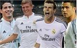 Real có đội hình đắt nhất châu Âu, M.U đứng thứ ba
