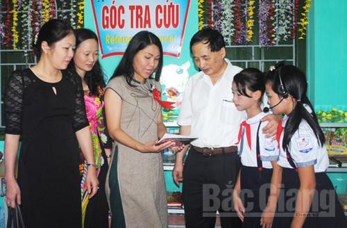 Bắc Giang, khai trương, 'Thư viện thân thiện'