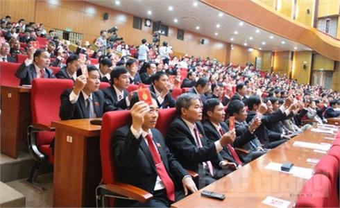 Bế mạc ĐH Đảng bộ tỉnh Bắc Giang lần thứ XVIII: Thông qua Nghị quyết với 15 chỉ tiêu chủ yếu