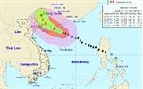 Bão số 4 cách đảo Hải Nam (Trung Quốc) 130km về phía Đông