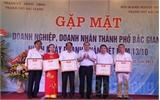 TP Bắc Giang: Gặp mặt doanh nghiệp, doanh nhân tiêu biểu