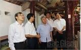 HĐND tỉnh Bắc Giang giám sát công tác tu bổ di tích tại Việt Yên