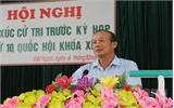 Đoàn ĐBQH tỉnh Bắc Giang tiếp xúc cử tri huyện Tân Yên