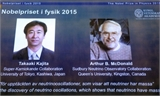 Giải Nobel Vật Lý 2015 vinh danh hai nhà khoa học Nhật Bản và Canada