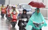 Không khí lạnh tăng cường gây mưa dông toàn Bắc Bộ
