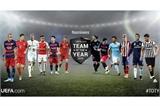 Công bố ứng cử viên đội hình tiêu biểu UEFA 2015