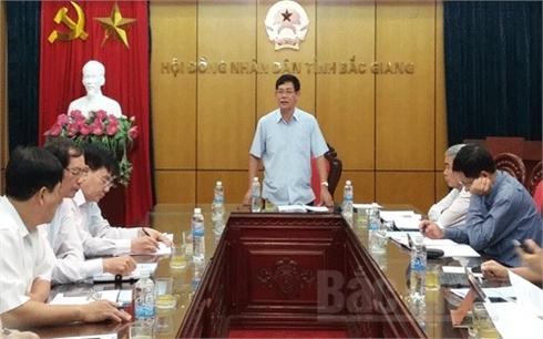 HĐND tỉnh Bắc Giang: Thẩm tra 4 dự thảo nghị quyết trình kỳ họp thứ 14