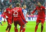 Bayern Munich đến gần chức vô địch lượt đi Bundesliga