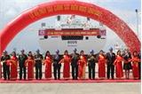 Hạ thủy tàu Cảnh sát biển hiện đại nhất Đông Nam Á