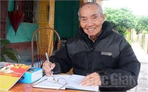 Đảng viên lão thành Trương Văn Hòa: Làm việc tốt cho đời