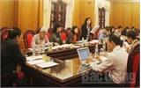 Thường trực HĐND tỉnh Bắc Giang: Thẩm tra một số nội dung trình kỳ họp lần thứ 14