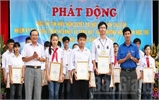Trao thưởng cuộc thi tìm hiểu Nghị quyết Đại hội Hội LHTN Việt Nam