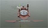 Tàu ngầm Hoàng Sa thử nghiệm thành công ở hồ lớn