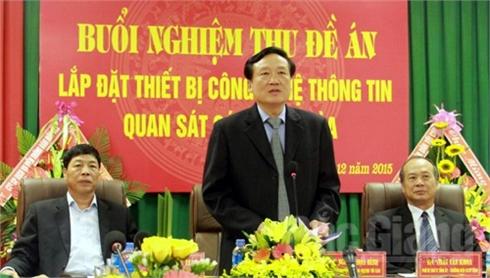 Bắc Giang: Nghiệm thu Đề án lắp đặt thiết bị quan sát các phiên tòa
