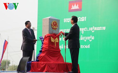 Việt Nam - Campuchia, khánh thành, cột mốc, 275