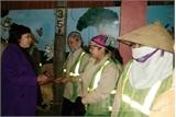 Phó Chủ tịch UBND tỉnh Bắc Giang Nguyễn Thị Thu Hà chúc Tết công nhân vệ sinh môi trường