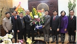 Các đồng chí lãnh đạo tỉnh Bắc Giang chúc Tết một số cơ quan, đơn vị