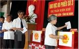 Ủy ban nhân dân quyết định việc thành lập tổ chức phụ trách bầu cử