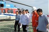 Chủ tịch nước thăm và chúc Tết cán bộ nhân viên giàn khoan dầu khí