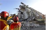 Số người chết trong trận động đất ở Đài Loan tăng lên 55