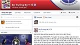 Facebook Bộ trưởng Bộ Y tế Nguyễn Thị Kim Tiến cập nhật liên tục ngày Tết