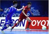 Futsal Việt Nam thắng sít sao Đài Loan (Trung Quốc)