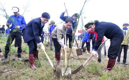 Phát động Tết trồng cây Xuân Bính Thân 2016