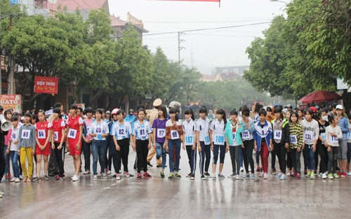 gần 300 VĐV,  tham dự,  Giải việt dã truyền thống, Yên Dũng