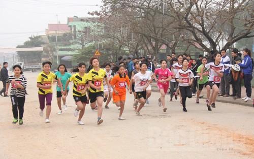 Lục Nam, Việt Yên tổ chức Giải Việt dã truyền thống