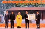 Chùa Vĩnh Nghiêm đón nhận Bằng xếp hạng Di tích quốc gia đặc biệt