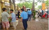 TP Bắc Giang: Bảo đảm trật tự đô thị tại khu vực cổng bệnh viện