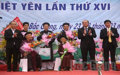 Gặp nghệ nhân dân ca quan họ ở làng Nội Ninh