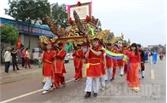 Đón nhận Bằng xếp hạng Di tích Quốc gia Mộ và Đền thờ Hán quận công Thân Công Tài